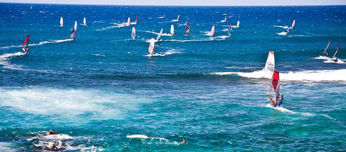 Windsurfing : Hawaii : Intro 05