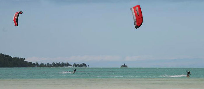 Windsurfing : Cook Islands : Muri Lagoon 01