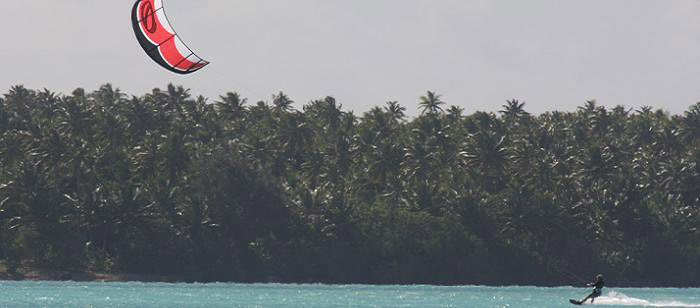 Windsurfing : Cook Islands : Muri Lagoon 02
