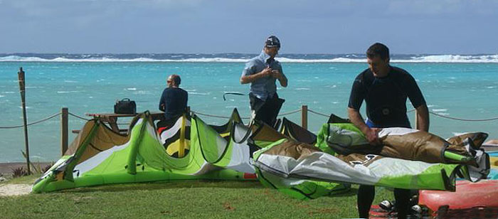 Windsurfing : Cook Islands : Muri Lagoon 09